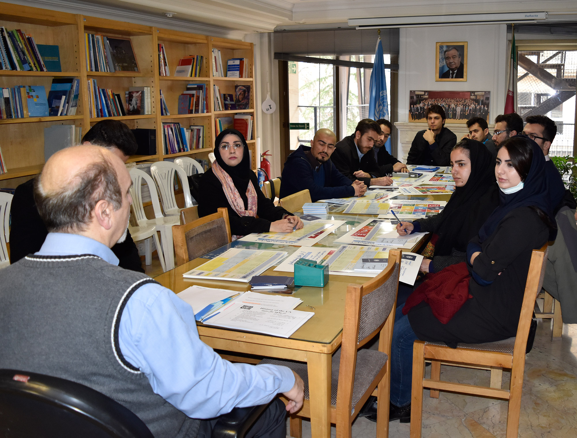 briefing-on-un-un4u-for-university-of-tehran-students