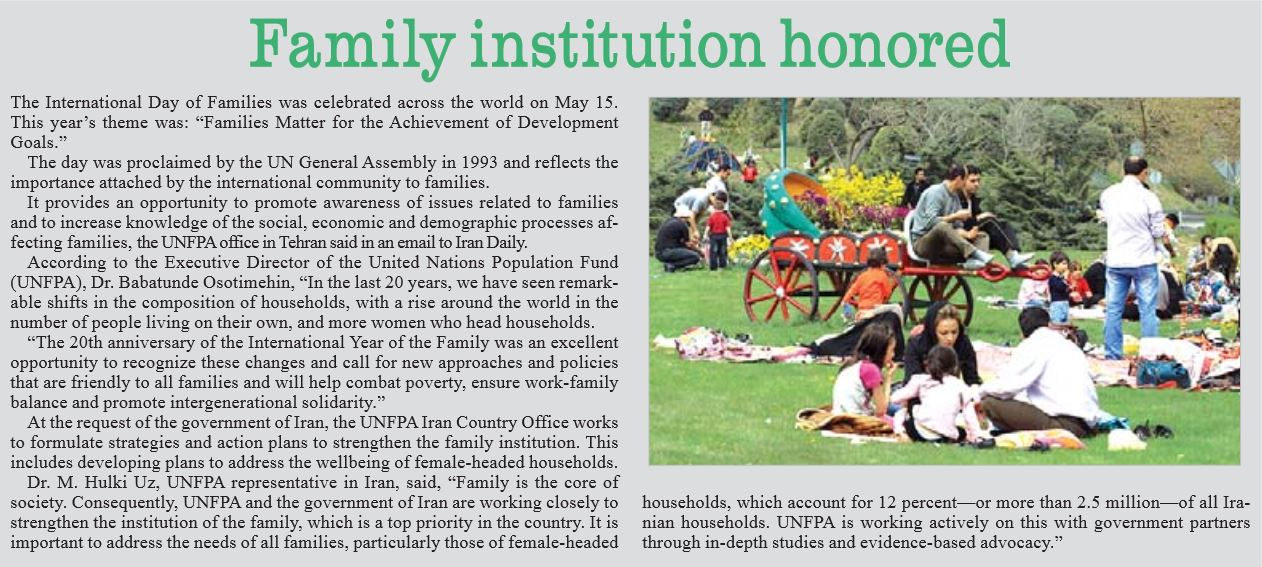 19-may-2014-unfpa-featured-in-iran-daily-on-international-day-of-families