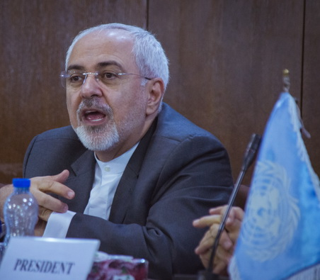 fm-zarif-opens-6th-security-council-model-un