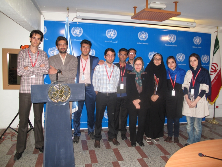 two-groups-of-shahid-beheshti-graduate-students-navigate-the-un-online
